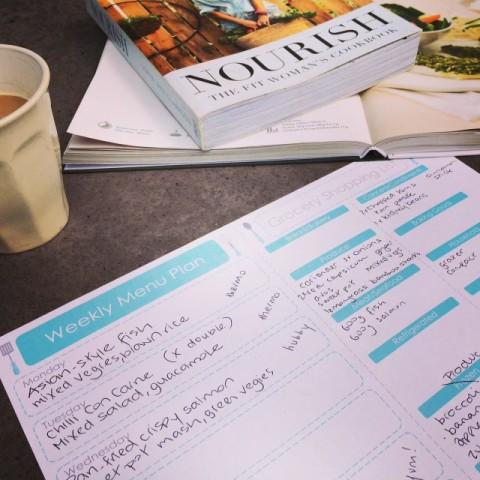 Planning =easier life + better eating